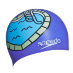 Bonnet de Bain Junior Coeur Violet Speedo