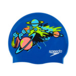 Bonnet de Bain Junior Galaxie bleu Speedo