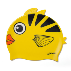 Bonnet de bain junior Poisson Jaune Finis