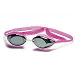 Lunettes Natation Compétition Junior TYR Tracer Racing Metallized - Rose